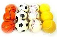 12pcs Soft Foam Sponge Stress Relief Mix Mini Footballs Kids Toy Gift