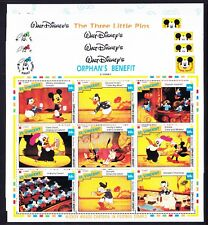 ST VINCENT 1992 SG2050/MS2139 Disney Films 10 sheets +20 mini-sheets u/m cat£105