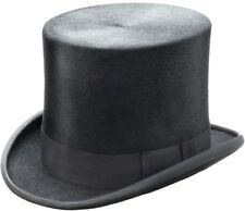 CHRISTYS' LONDON TOPPER TOP HAT 56cm 7 SUPERIOR QUALITY Black Rabbit FUR FELT