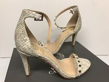 Vince Camuto Snake Skin Print and Valentino-like studded Women shoes size 5 M