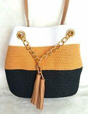 Magid Paper Straw MINI Shoulder Bag