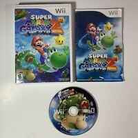 Super Mario Galaxy 2 (Nintendo Wii, 2010) CIB Authentic Tested!