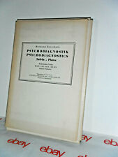 H. Rorschach Psychodiagnostic Tafeln (VG to VG+) 10 Signed Plates (FRAMEABLE)