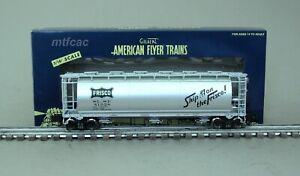 American Flyer (High Rail) 6-48865 SLSF Frisco Cylindrical Hopper Car