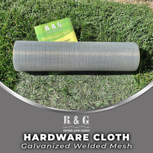 R & G Hardware Cloth Galvanized After Welded - 1/4 IN x 1/4 IN Opening 23 Gauge