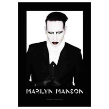 "Marilyn Manson Proper Tapestry Cloth Poster Flag Wall Banner 30"" x 40"""