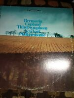 Bernstein Conducts Copland NY Philharmonic Third Symphony LP 1967 VG++ First Pre