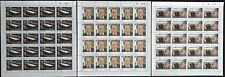 Lebanon 2017 NEW MNH set 3v. - President Michel Aoun, Flag, Palace - FULL SHEETS
