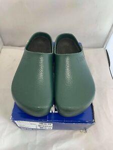 Mens Birkenstock Super-Birki Work Nurse Kitchen Cloggs Shoes Size UK 9.5 XD