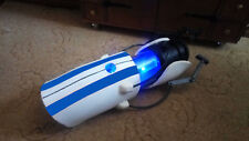 Portal Gun blue stripes Device Science Handheld P body ATLAS Cosplay