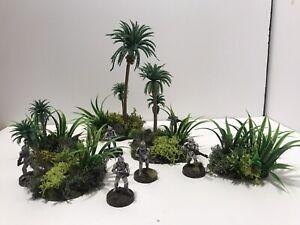 Wargaming Terrain: 5 Piece Jungle Set Warhammer Star Wars Legion D&D