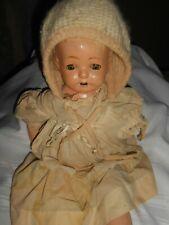 "Antique Genuine ""Madame Hendren 220"" 17"" Doll (in need of help)"