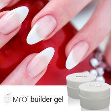MRO UV LED Gel Clear Hard Builder Gel Nail Art 0.5fl.oze Polish Varnish Salon