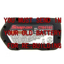 Battery Rebuild service For Snap-on CTB4185 18 V   3.0 NI-MH