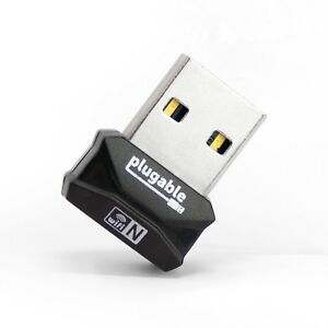 Plugable USB 2.0 Wireless N 802.11n 150 Mbps Nano WiFi Network Adapter (Windows)