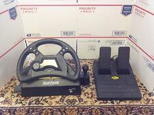Playstation 1 MadCatz Dual Force Racing Wheel and Pedals Wired Controller PS1