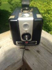 vtg Kodak BROWNIE HAWKEYE Box Camera Flash Model Bakelite 1950s
