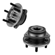 2 PCS Front Wheel Hub Bearing Assembly for Jeep Cherokee Wrangler TJ with 5 Lug