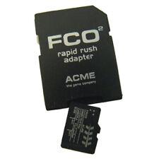 SCHEDA MICRO SD 2GB FLYCAMONE FC02 FC2002 RAPID RUSH 8.0 CON ADATTATORE SD