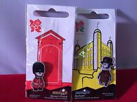 London 2012 Olympics Wenlock & Mandeville Badge Special Limited Edition TWO