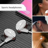 3.5mm Wired Bass Headset In-Ear Earphone Sport Stereo Earbuds Headphone With Mic