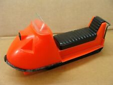 1968 Processed Plastic vintage red Aurora Ski Bob snowmobile A