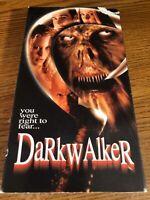 Darkwalker VHS VCR Video Tape Movie Michael Sage Used Horror VERY RARE
