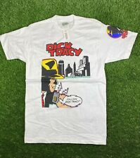 Vtg 90s Dick Tracy Movie Promo T Shirt Deadstock Nwt