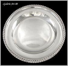 ODIOT Gustave : Somptueux Plat rond en Argent massif Sterling Platter 597gr N°1