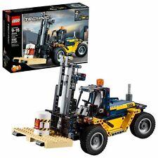 2x Technic Forklift Fork 2823 Yellow//Jaune//Gelb Lego