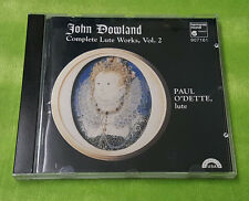 John Dowland: Complete Lute Works, Vol. 2 (CD, May-1996, Harmonia Mundi (Distrib