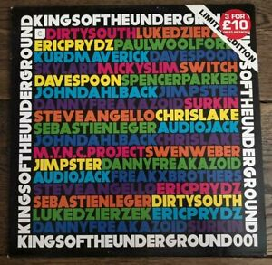 "Kings Of The Underground 001 (2008) Vinyl, 12"", Limited Edition, Sampler"