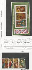 Burundi, Postage Stamp, #531-3a, C267-9 Mint NH Set & Sheet, 1977 Christmas (P)