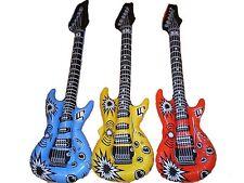20x Luftgitarre NEU 100cm aufblasbare Luft Gitarre Party Mitgebsel Luftgitarren