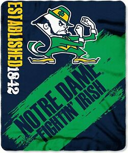 The Northwest Company Officially Licensed NCAA Painted Printed Fleece Throw