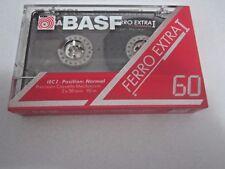 CASSETTE TAPE BLANK SEALED - 1x BASF FERRO EXTRA I 60 [1991-93]