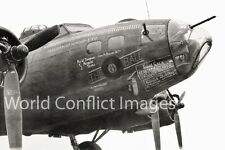 USAAF WW2 B-17 Bomber The Eight Ball Mk II 8x10 Nose Art Photo 303rd BG WWII