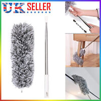 Extendable Feather Duster Extra Long Telescopic Dusters Cobweb  Bendable UK