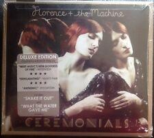 FLORENCE + THE MACHINE Ceremonials New CD Bonus Tracks 16 Trk Delux Edition 2011