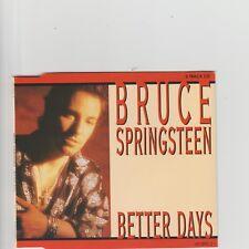 Bruce Springsteen- Better Days UK cd single.