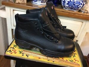 Red Wing Safety Toe Boots black Sz 12 ASTM F 2413-05 M/I/75/C/75 EH  Made in USA
