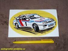Ford Sierra RS Cosworth, FINA Motor Oil - Sticker/Aufkleber