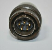 Souriau Mil Spec Circular 5 Pin Connector 85106p14 5p5094