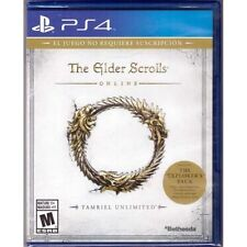 The Elder Scrolls Online: Tamriel Unlimited (PlayStation 4, PS4 2015) Brand New