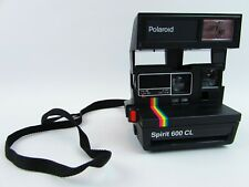 Vintage Polaroid Spirit 600 CL Instant Film Camera Tested Working Flash Photo's