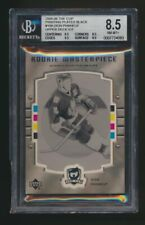 Dion Phaneuf UD Ice #109 Printing Plate 1 of 1  Graded BGS 8.5  NHL Hockey Card