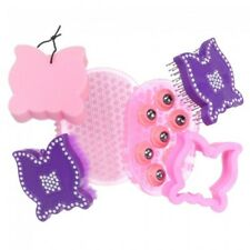 Tough-1 6 Piece Grooming Kit Butterflies - Pink/Purple - Nwt -