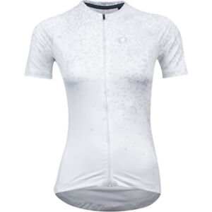 PEARL iZUMi Ladies / Women's Bicycle Cycle Bike Interval Jersey in White