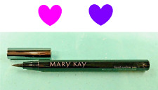 Mary Kay LIQUID EYELINER PEN Precision Tip Fine Line or Cat Eye BLACK Full Size!