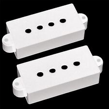 Pair of Precision Bass Electric Guitar Pickup Covers